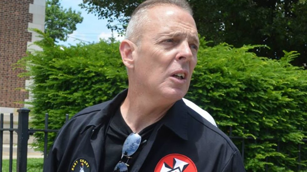 PA neighborhood watch member says he was fired for 'religious belief' in white superiority