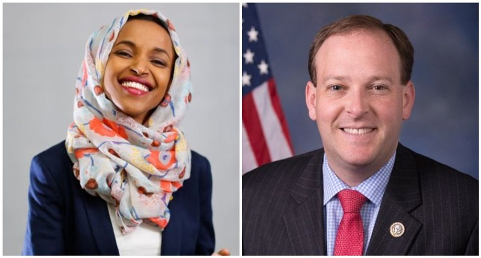 Muslim congresswoman calls out GOP lawmaker's bigotry -- and he predictably 'loses his marbles'