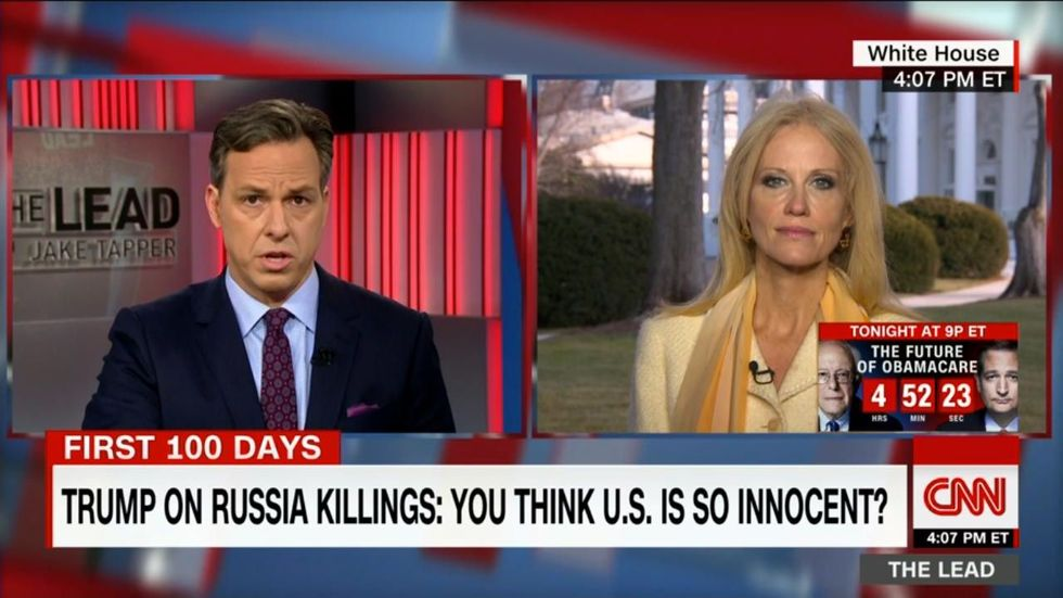 Bill Moyers: CNN inviting Kellyanne Conway back is a 'blow to its own credibility'