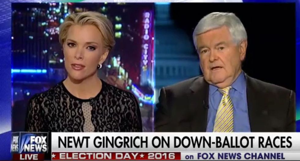 NRA host: Megyn Kelly attacked Gingrich over Trump comments as a 'diversion' from talking about guns