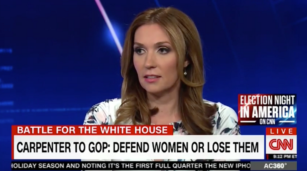 CNN conservative slams the GOP for letting Trump's misogyny run wild: 'They need female supervision'