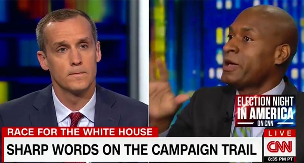 WATCH: Furious Charles Blow explodes on Corey Lewandowski after being called a 'hypocrite'