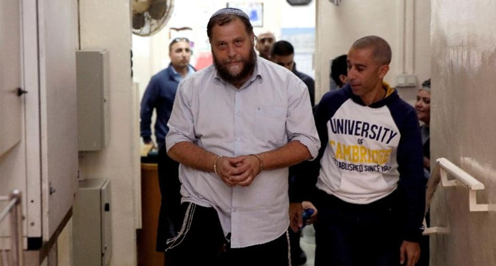 Israel police question Jewish extremist who defends torching churches