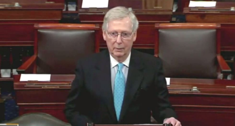 McConnell accuses Dems of gaslighting him on Russian interference -- and then blames Obama for Russian interference