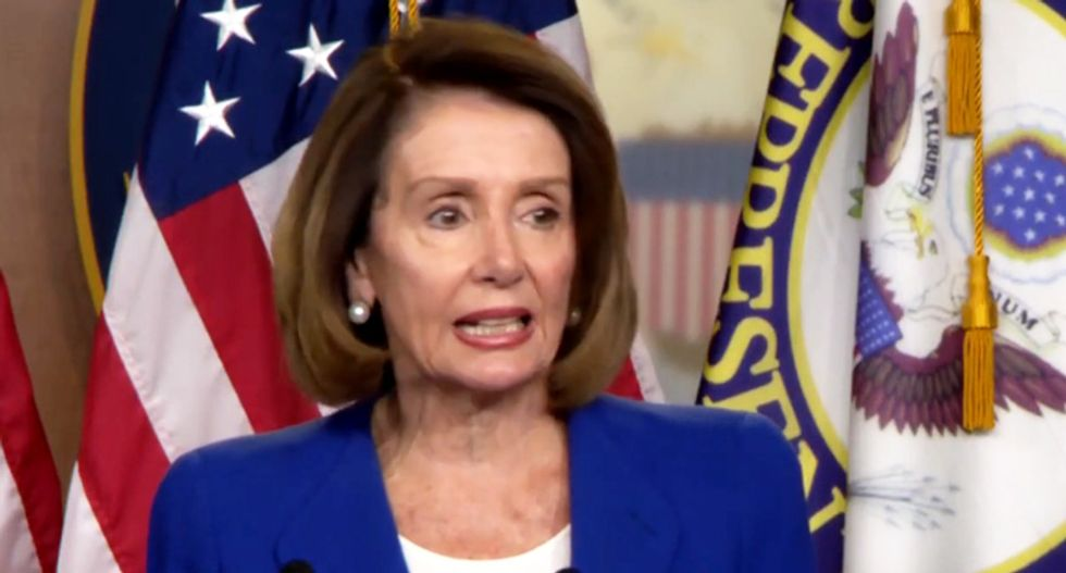 Trump rails against Nancy Pelosi for denying his border wall: She 'should be ashamed of herself'