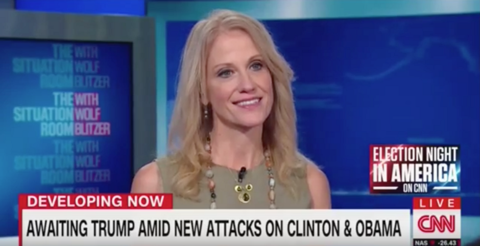 Blitzer confronts Kellyanne Conway on whether Trump knows what 'Obamacare does' after Florida fiasco