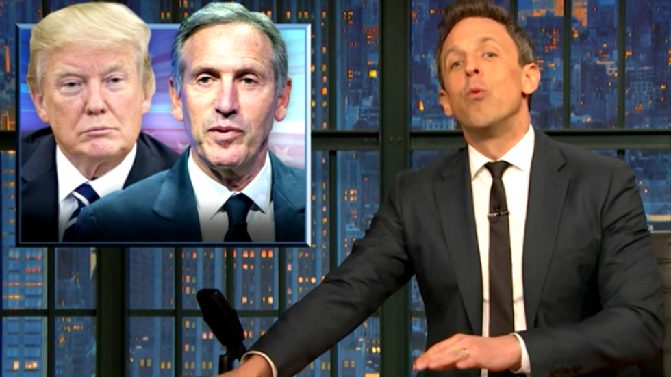 'Trump put a stink on that genre': Seth Meyers jokes that nobody wants another billionaire businessman president