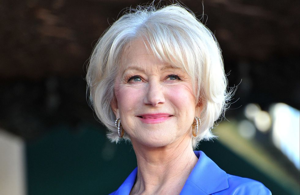 Helen Mirren tells 'nasty women' to end 'small-headed dinosaur-y-handed' Trump's candidacy