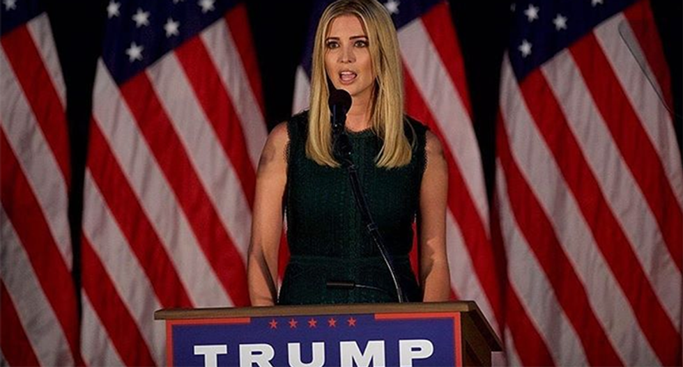 Fewer than 1 in 4 women would buy clothes from Ivanka Trump after her father's toxic campaign