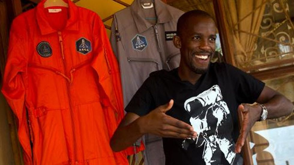 Young DJ Mandla Maseko set to be first black African in space