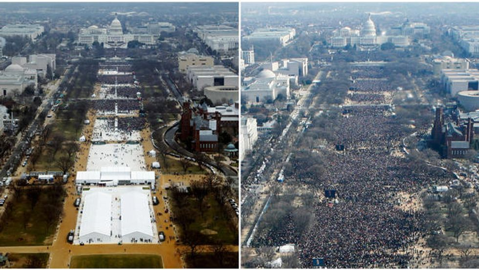Trump made 'a rare admission' of regret after ordering Spicer to defend his inauguration crowd size: Fox News reporter