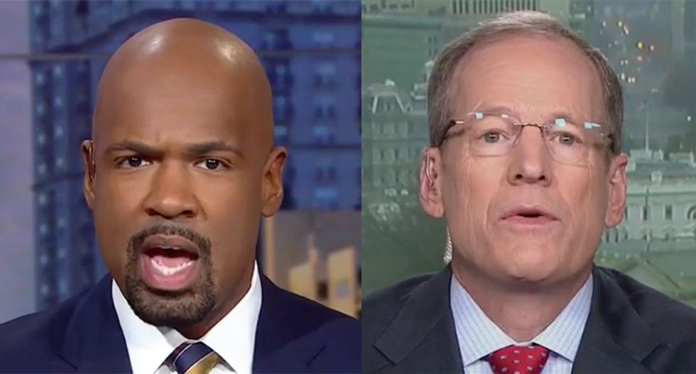 'We just disproved that': CNN's Blackwell smacks down Jack Kingston for claiming Trump has improved the lives of blacks