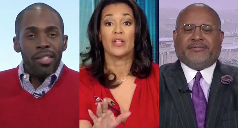 Conservative melts down on CNN after he's asked to defend being a black man who supports Trump