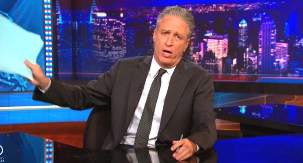 Jon Stewart: It's more fun to mock Rick Scott's fear of a 'ball fan' than his policies