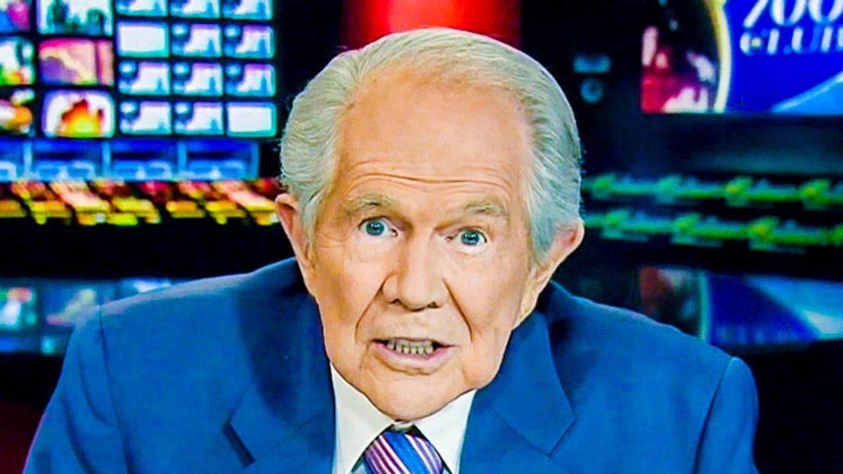 'It's not National God Day': Pat Robertson's reporter mocked for attacking Biden's National Day of Prayer proclamation