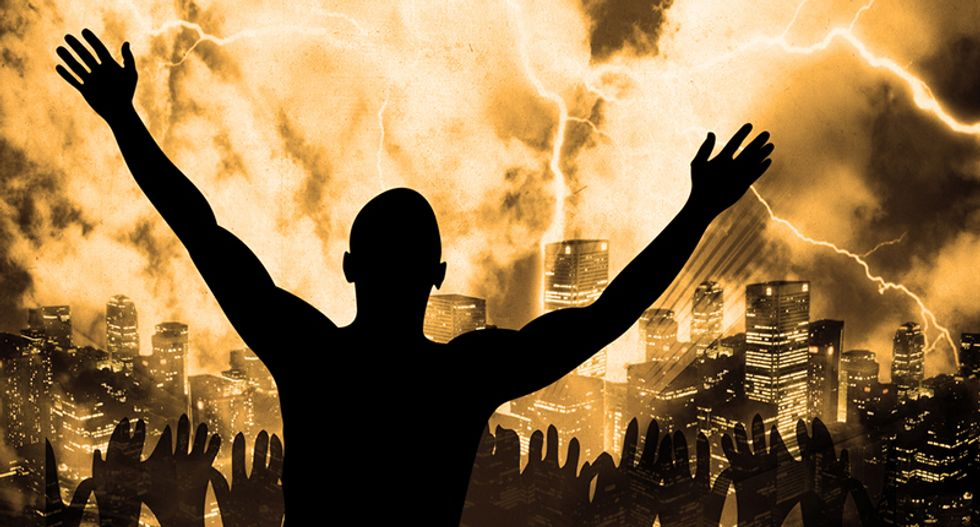 Theological scholar explains horrifying reason Trump's supporters celebrated Armageddon in Pensacola