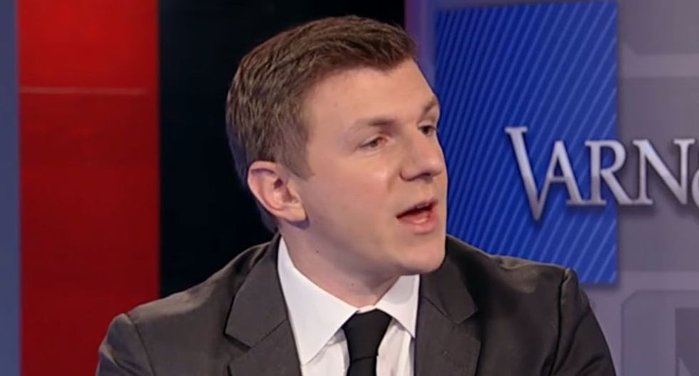 James O'Keefe could end up in jail for a year after crashing CNN call: report