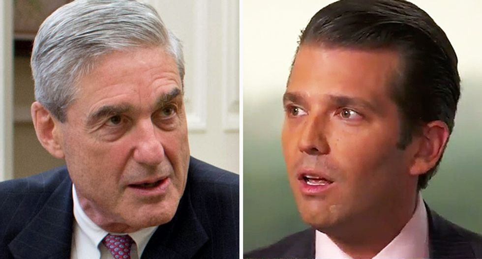 Robert Mueller likely thought Don Jr. was guilty — here's why that actually made it hard to investigate Trump