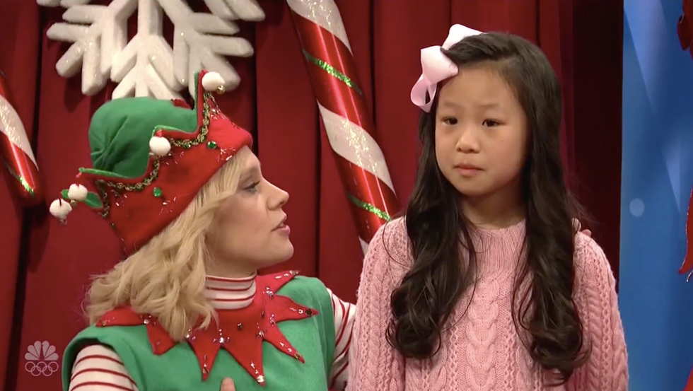 'It's more of a registry': SNL's Santa and an elf get asked whether Roy Moore is on the 'nice' or 'naughty' list