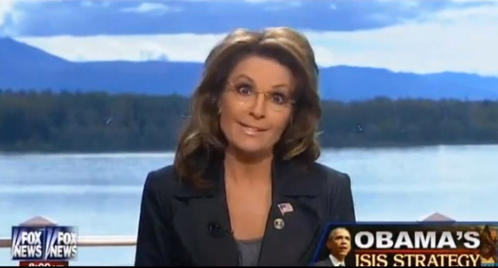 Sarah Palin goes on Fox to denounce interview of Duggar girls — conducted on Fox