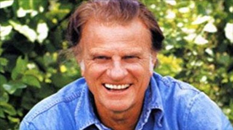 Republican lawmaker wants Tennessee to honor Billy Graham's service to the Gospel