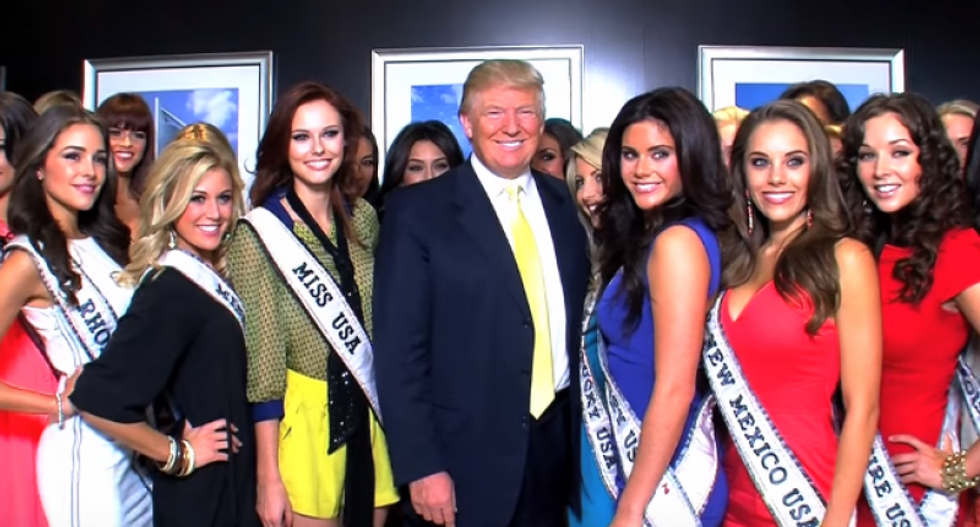WATCH: Trump boasts of his plan to humiliate another former Miss Universe over petty slight
