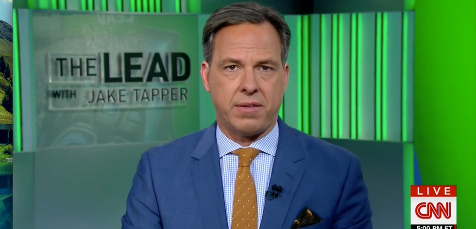 Jake Tapper issues plea directly to Trump: 'You won the presidency, now get to work and stop whining'
