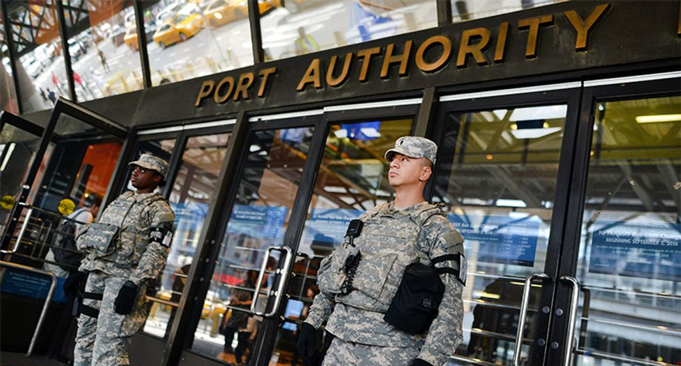 Explosion reported near NYC port authority bus station