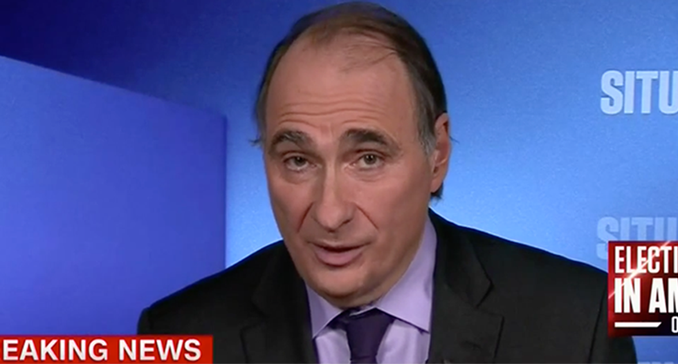 'Was he making the case for larger action?': David Axelrod wonders if Trump is gunning for war