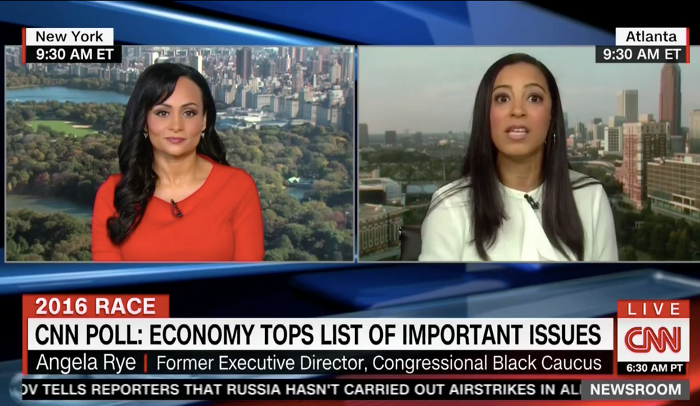 'I could sue you': CNN's Angela Rye torches Katrina Pierson for telling a massive lie about her