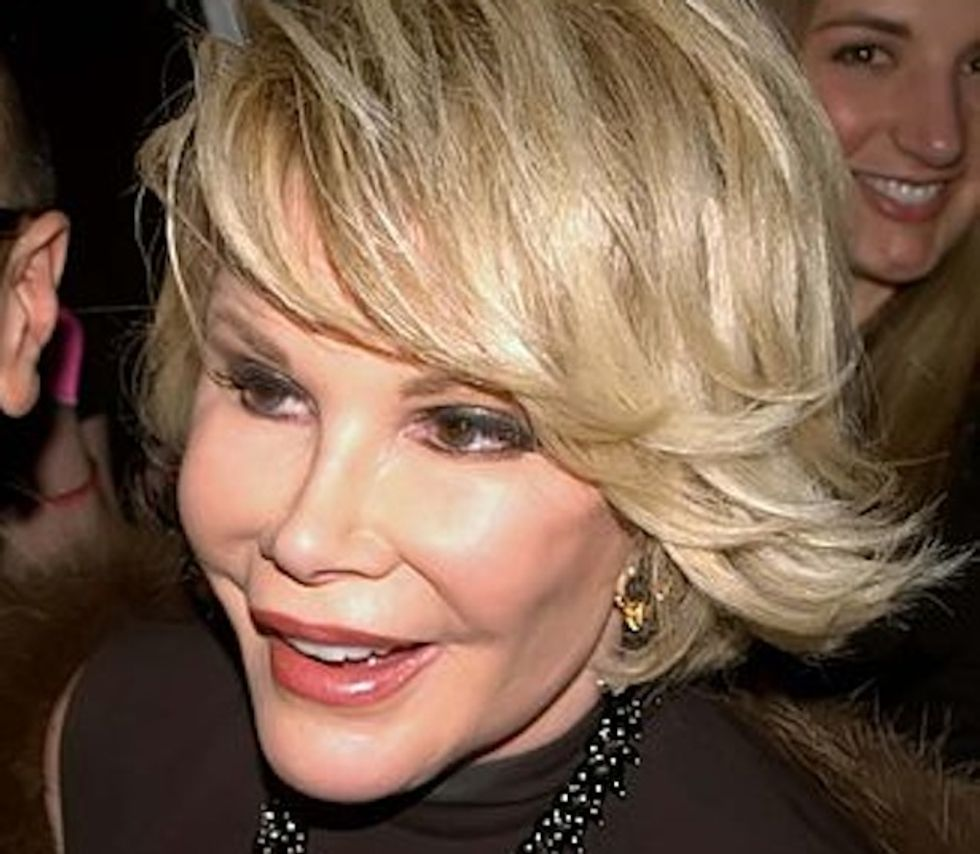 What if a Muslim comic said about Jews what Joan Rivers said about Palestinians?
