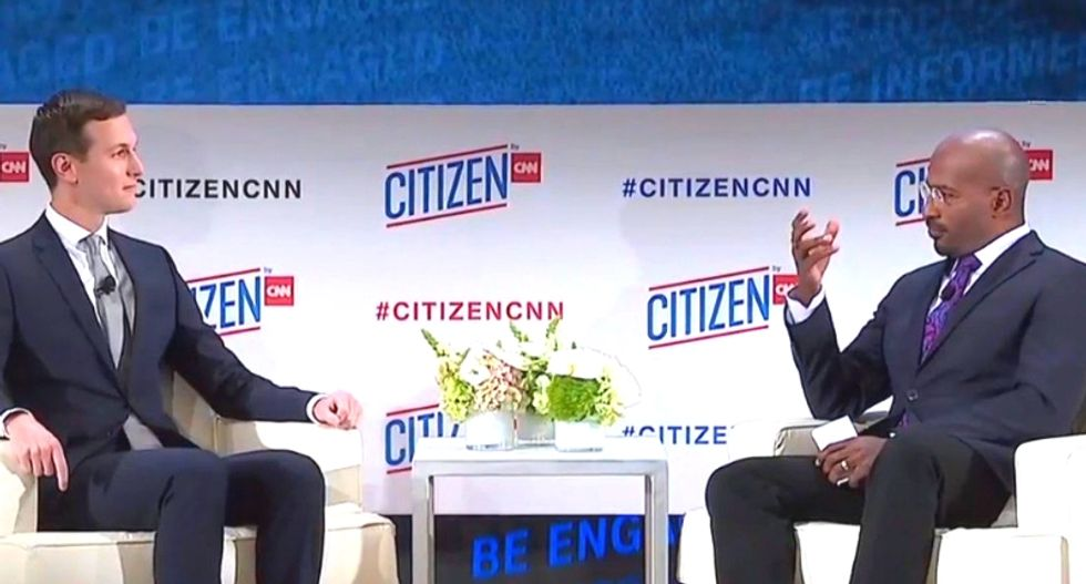 CNN's Van Jones explains why he didn't 'beat up' Jared Kushner in interview about Saudis