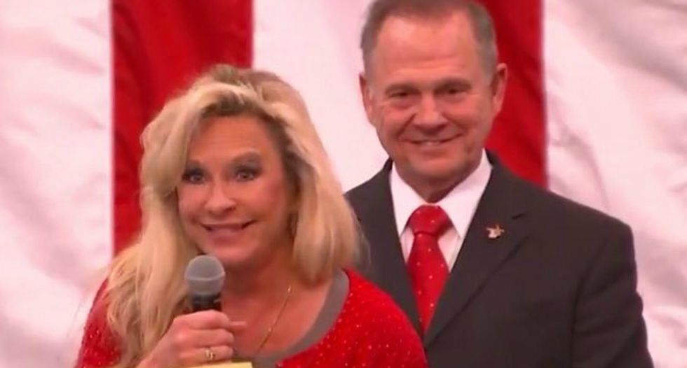 Roy Moore's wife preempts accusations of anti-Semitism: 'One of our attorneys is a Jew!'