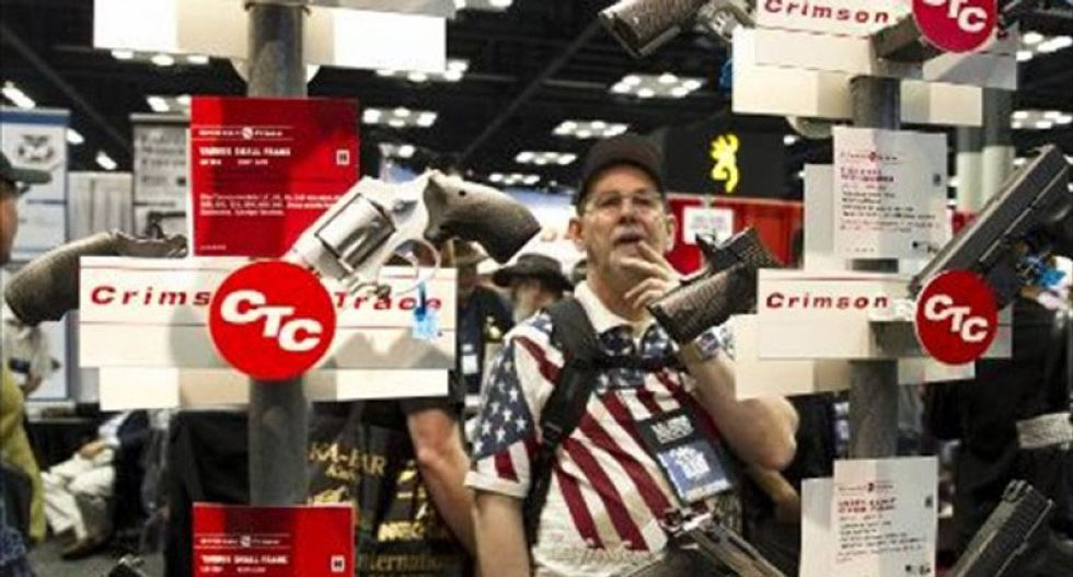 As election day nears, 1 in 6 Americans say they're buying guns -- and half expect violence
