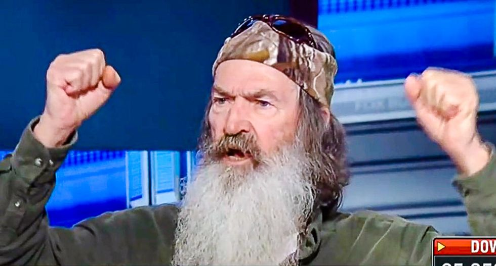 Duck Dynasty's Phil Robertson ridiculously claims that 'Trump has done more for Christianity than any president'