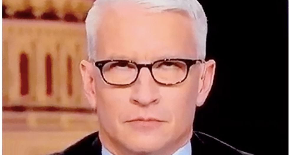 CNN's Anderson Cooper demolishes Trump's Google/Clinton conspiracy theory: He's on 'one of his favorite hobby horses'