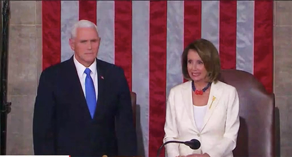 Nancy Pelosi caved after a promise from Mike Pence — and it was a huge mistake