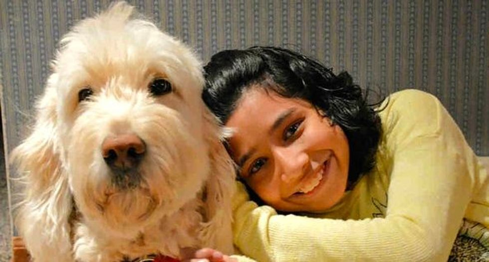 A girl and her service dog: top US court mulls discrimination claim