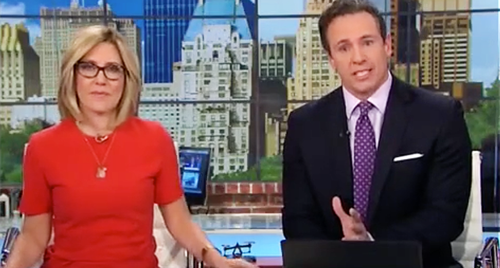 Chris Cuomo says no Republicans were willing to appear on CNN to defend Trump's firing of Comey
