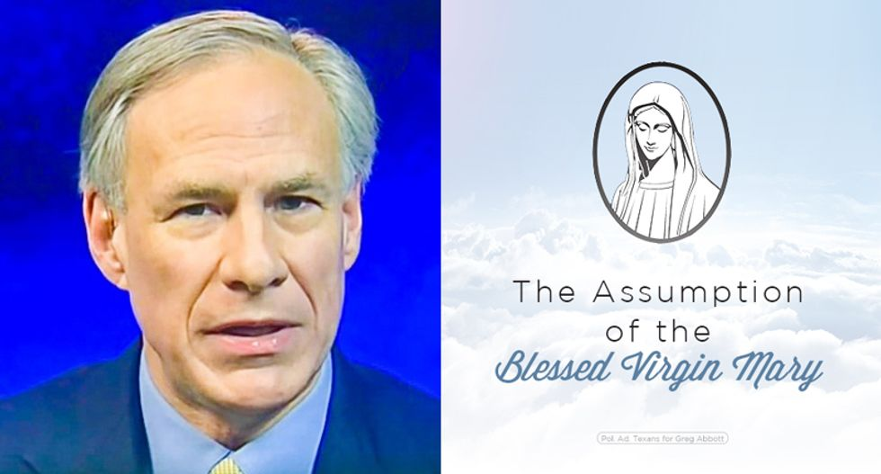 Jesus fight!: Furious fundies flood Texas governor's Facebook page over Virgin Mary 'idolatry'