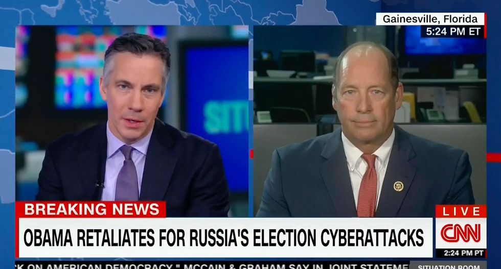 'Is that your job?': CNN host confronts GOP Rep refusing to hold Russia accountable for hacks