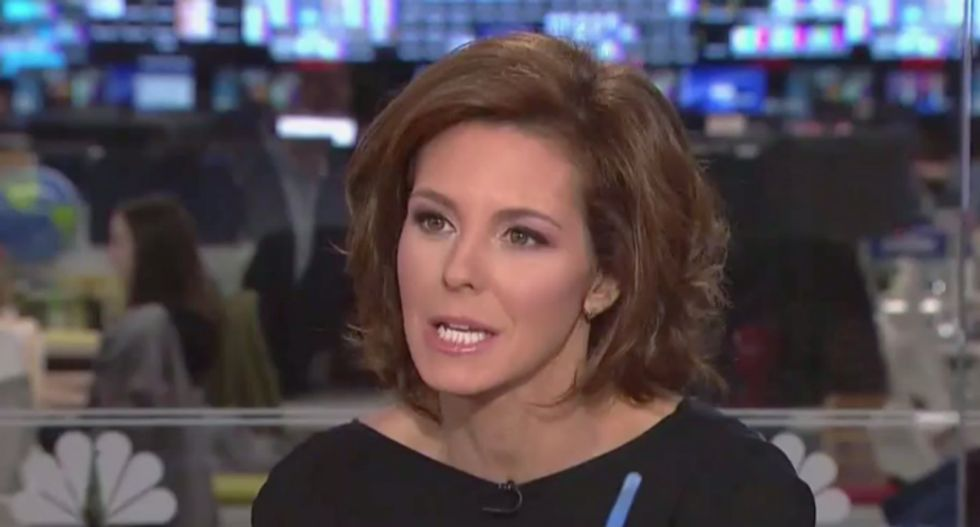 Clash erupts on MSNBC as Stephanie Ruhle grills GOP pollster for claiming Kamala Harris is 'too far left'