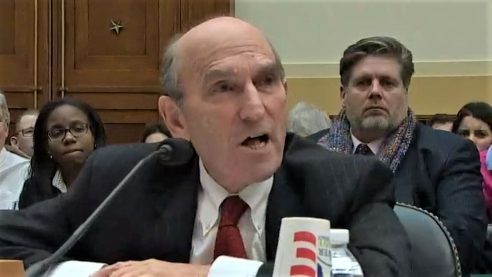 Trump official freaks out after Rep. Omar asks him if he'd back genocide in Venezuela like 'you did in Guatemala'