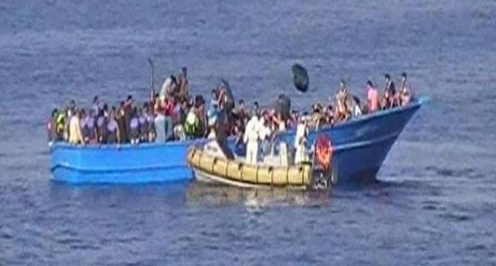 As tensions over migrants rise, 3,000 rescued off Italy in single day
