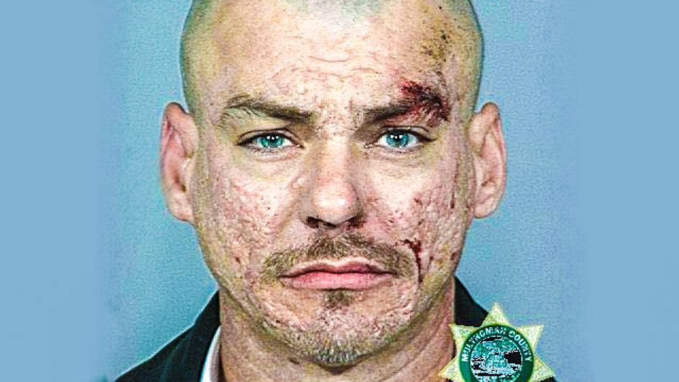WA white supremacist shoots officer 7 times, possibly paying Aryan Brotherhood 'debt'