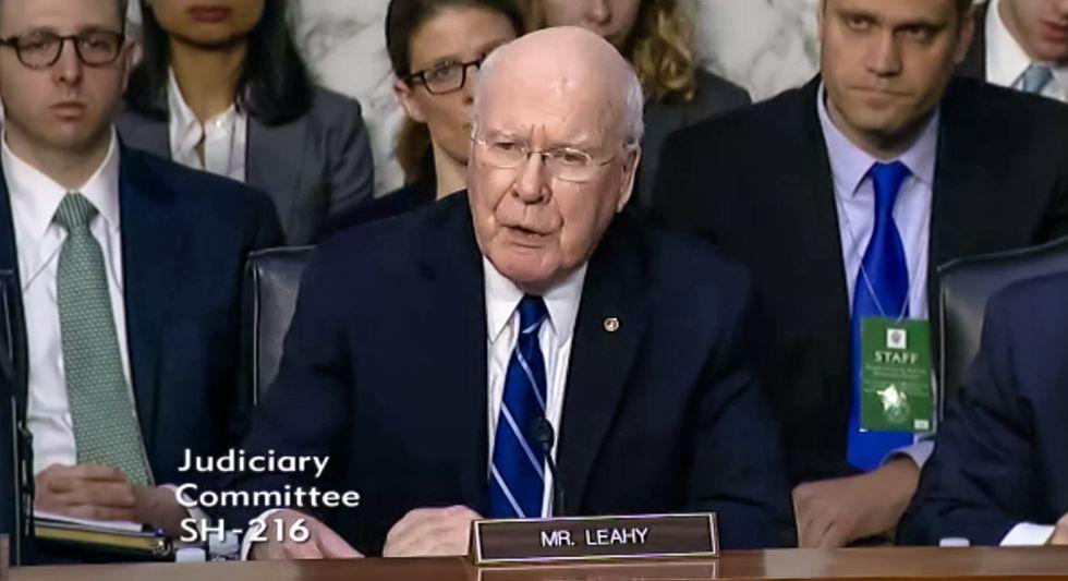 'Unprecedented obstruction': Sen. Leahy opens Gorsuch hearing by scorching GOP for Garland 'blockade'