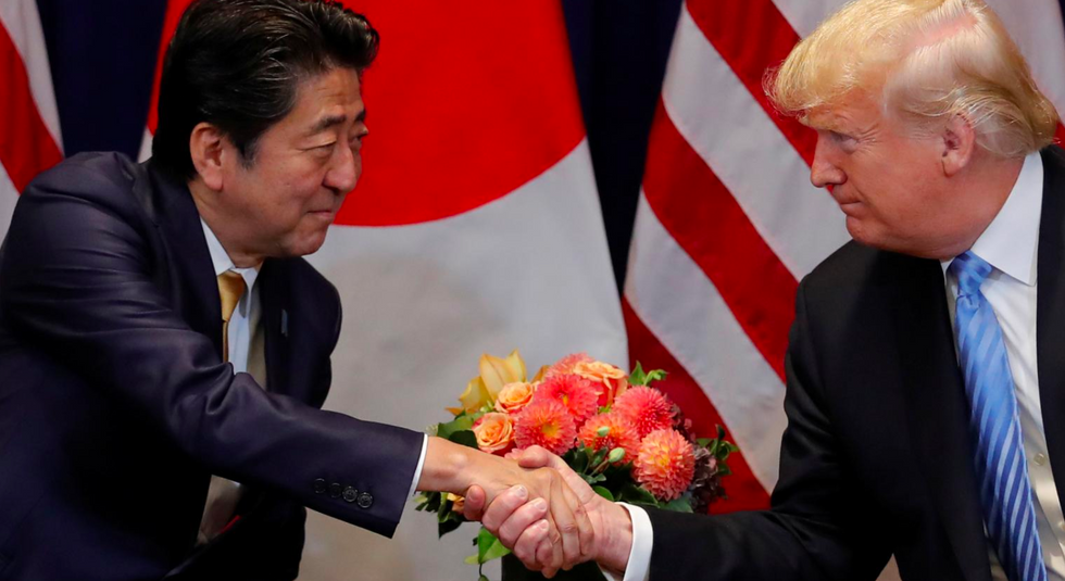Japan's PM nominated Trump for Nobel Peace Prize at the request of US government: newspaper
