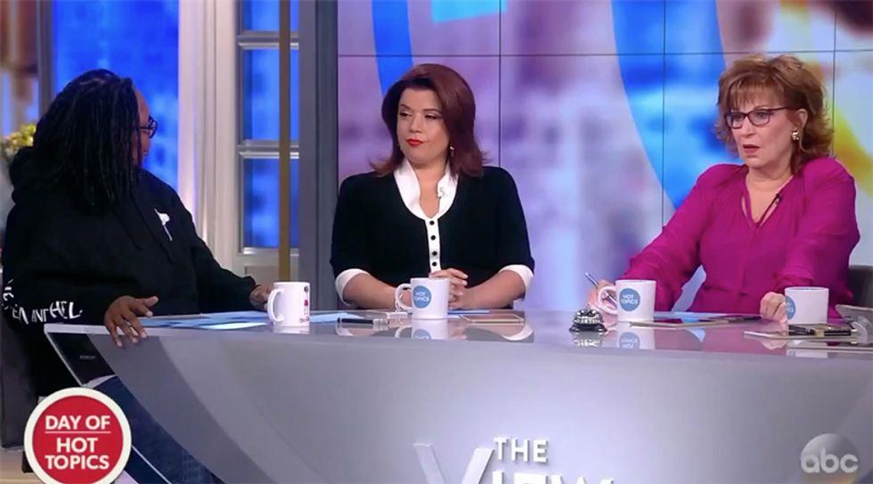 The View hammers Trump's 'racist' murder ad: He'll have 'blood on his hands' if his followers attack immigrants