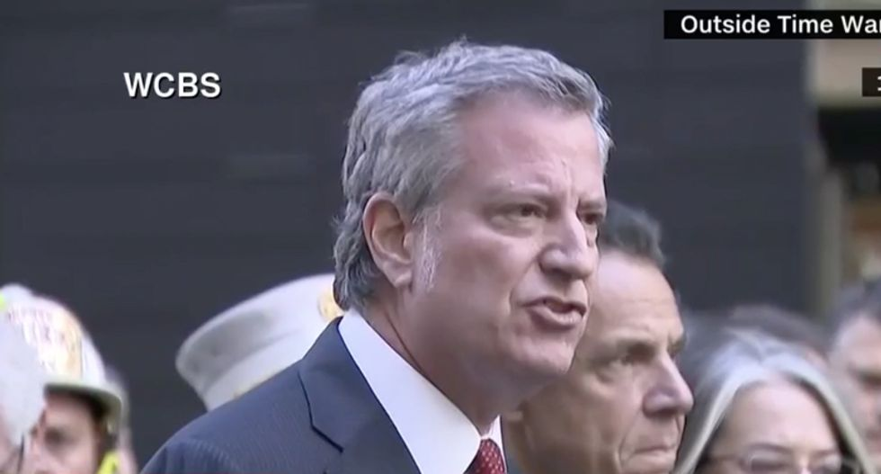 NYC mayor Bill de Blasio says mail bombs were 'an effort to terrorize' Americans and the free press