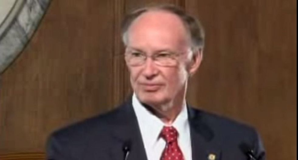 Alabama governor who called marriage equality a 'social experiment' slapped with divorce papers